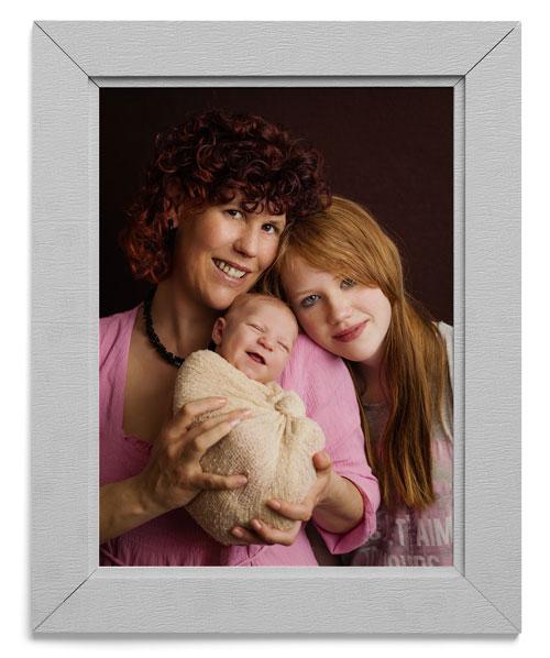Babyshooting Familienfoto mit Baby