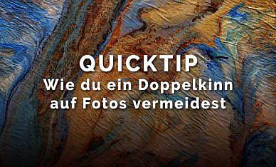 Quicktip – Doppelkinn auf Fotos vermeiden