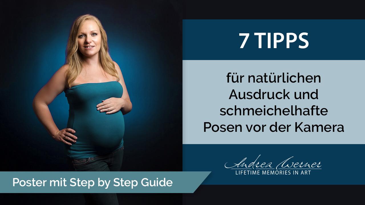 Tipps für natürlichen Ausdruck und schmeichelhafte Posen vor der Kamera