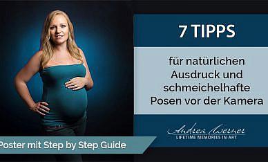 7 Tipps – fotogen vor der Kamera! Gratis Download für dich