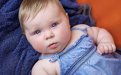 Baby Fotoshooting mit Charlotte