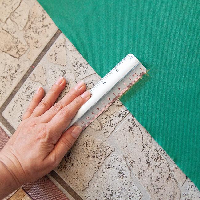 Bilder aufhängen leicht gemacht Messen Schablone