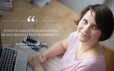 Positive Geburtsvorbereitung durch mentale Programmierung