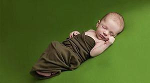 Babyfotos von Elias Finley